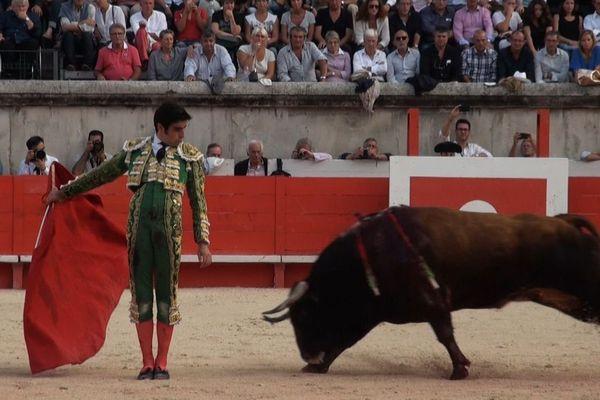 Miguel Ángel Perera a choisi Nîmes pour couronner sa meilleure saison. Il est dans Signes du toro d'octobre