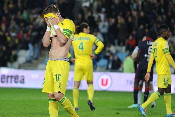 Lucas Deaux et les Nantais n'ont pas su trouver la faille pour ouvrir le score.