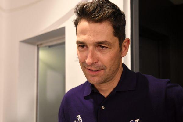 Alexandre Rousselet, entraîneur de l'équipe de France de ski de fond.