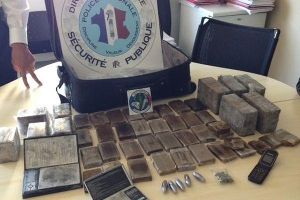 Onze kilos de cannabis ont été sais au lycée Jean Monnet de Montpellier