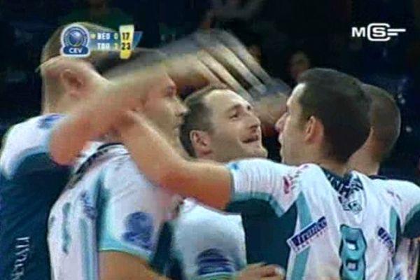 Le Tours volley ball  mardi soir à Belgrade