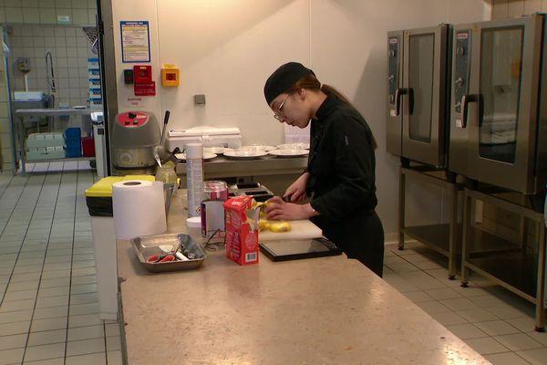Yaëlle Dupuy va défendre les couleurs du Poitou-Charentes au concours du meilleur apprenti cuisinier de France