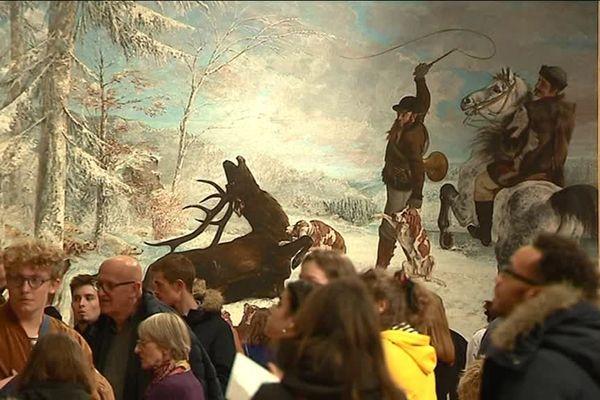 Les Bisontins se pressent pour découvrir le nouveau musée des Beaux-Arts.