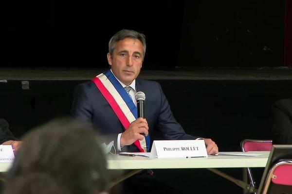 Philippe Rollet (SE) a été élu maire de Saint-Jean-de-Maurienne ce samedi.