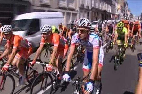 Tour du Limousin: départ de l'épreuve dans les rues de Limoges ( édition 2013)