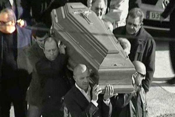 Novembre 2006: les obsèques de  Jean-Jérôme Colonna, dit Jean-Jé