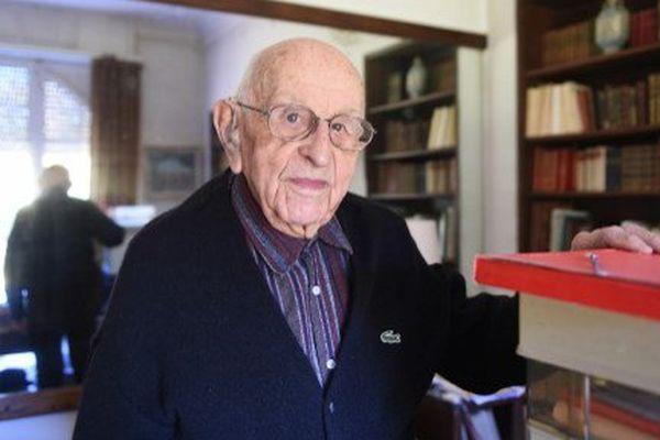 Guy de Rouville, chez lui à Vabre (81), en octobre 2015.