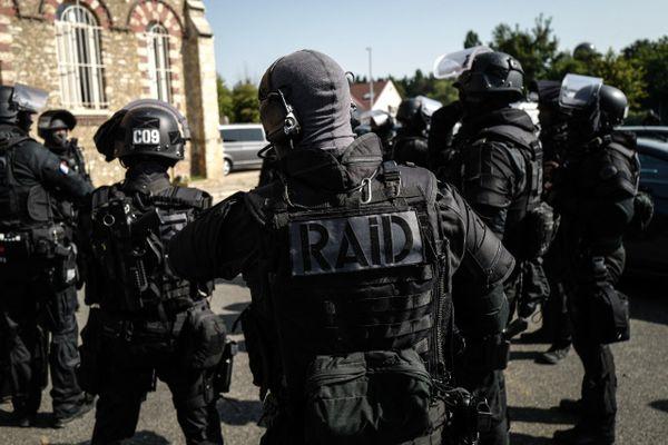 Illustration du RAID, qui a procédé à l'arrestation du chef du groupuscule OAS