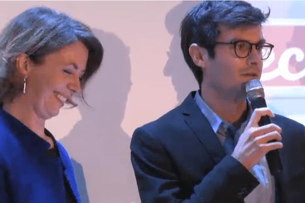 """Nicolas Urruty (Université de Poitiers) vainqueur de la finale régionale de """"Ma Thèse en 180 secondes"""" le 26 avril 2016 à Limoges"""