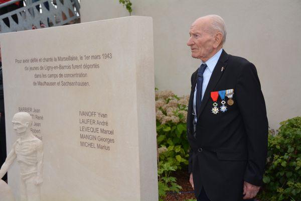Jean Manchette, un des deux derniers déportés de Meuse
