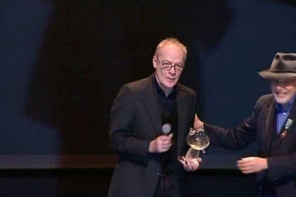 Jean-Claude Denis et Art Spiegelman à Angoulême en janvier 2012