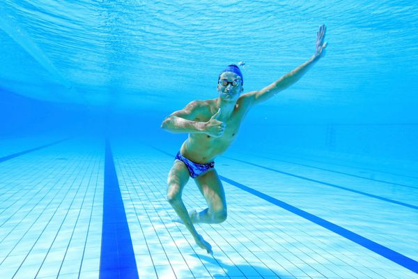 Florent Marais, 21 ans, para natation