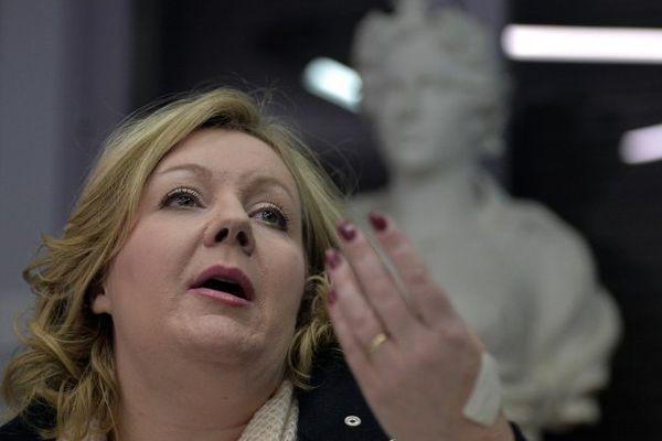 Sophie Montel est députée européenne et présidente du groupe FN au conseil régional de Bourgogne Franche-Comté