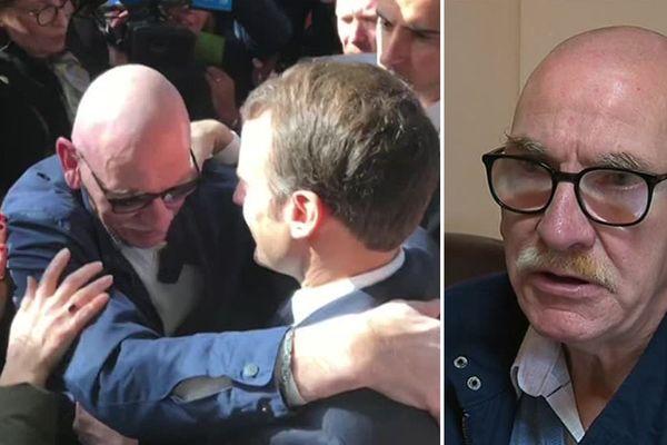 Pascal Lefer a craqué dans les bras du Président Macron la semaine dernière au Salon de l'agriculture