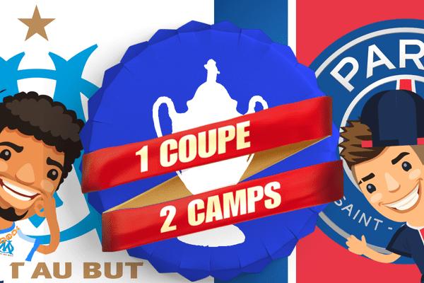 Une coupe de France, deux camps, sur France 3.