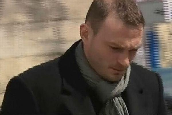 Montpellier - Nicolas Vizioz, ex-sergent du 3e RPIMa de Carcassonne, auteur des tirs qui ont fait 16 blessés, lors de la démonstration militaire - 9 avril 2013.