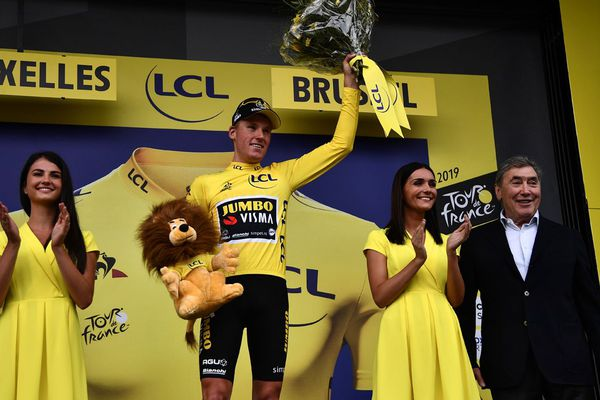 Teunissen, 1er maillot jaune du Tour de France 2019