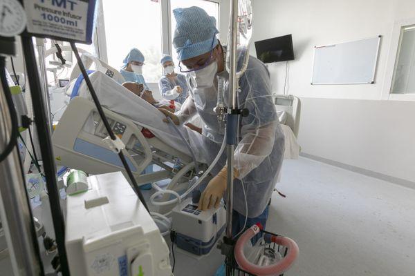 Au service de réanimation de l'hôpital de la Timone (APHM)