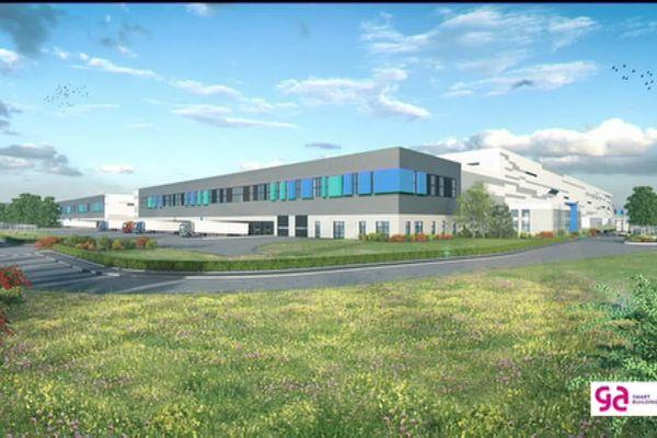 Le futur bâtiment Delticom fonctionnera en grande partie en autoconsommation grâce à 90.000 m² de cellules photovoltaïques