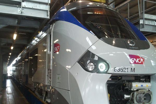 Le premier Régiolis de la SNCF en Midi-pyrénées