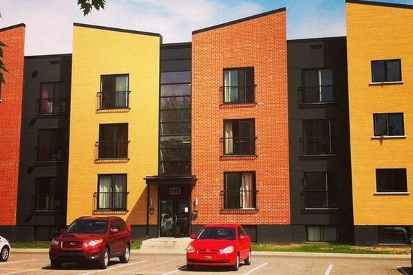 résidence située sur le campus de l'Université Québec-Trois-Rivières