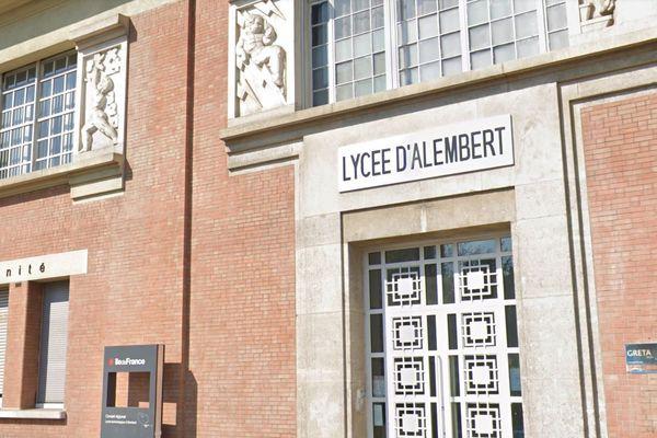 Le lycée professionnel d'Alembert se situe à Aubervilliers en Seine-Saint-Denis (illustration).
