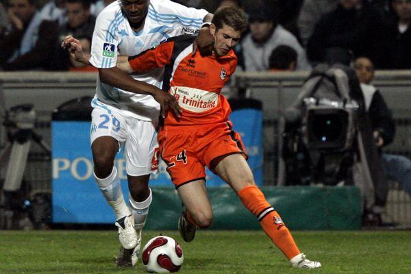 Sous le maillot du FC Lorient, Christophe Jallet a fait merveille durant trois saisons
