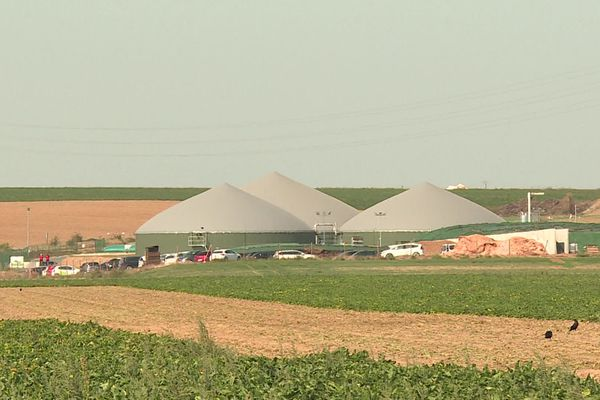 Le méthaniseur de Neuville-Saint-Amand alimente la ville de Saint-Quentin en biogaz.