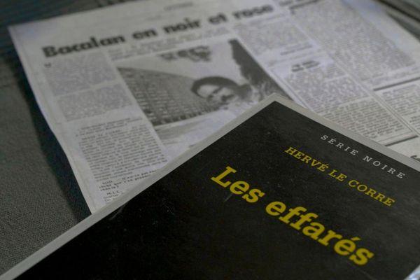 """""""Les effarés, couverture de l'un des romans noirs d'Hervé Le Corre"""