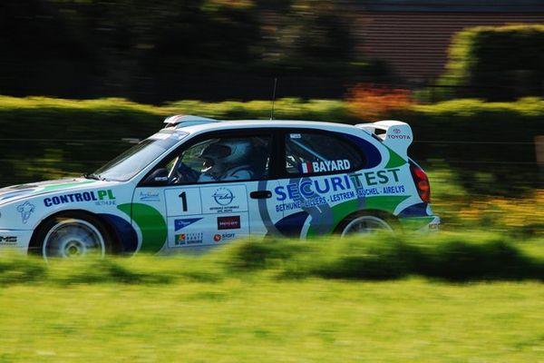 Laurent Bayard enlève la quatrième manche du Championnat de France des Rallyes 2e Division