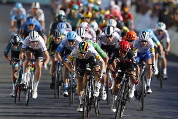 La dixième étape du Tour de France.