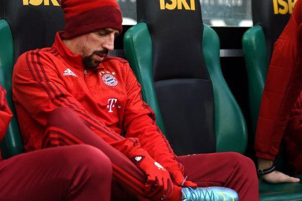 Rechute pour Franck Ribéry.