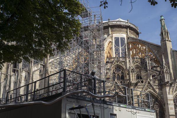 400 tonnes de plomb ont pris feu le 15 avril lors de l'incendie de la cathédrale Notre-Dame.