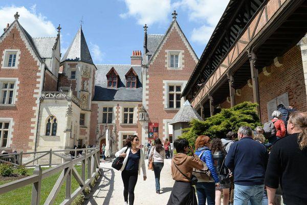 Le château du Clos Lucé dans l'Indre-et-Loire, a accueilli Léonard de Vinci jusqu'à sa mort en 1519