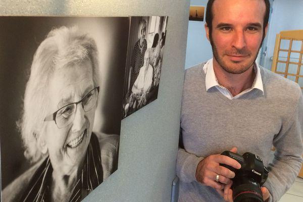 Cédric Derrien a photographié les résidents de l'EHPAD Beauséjour