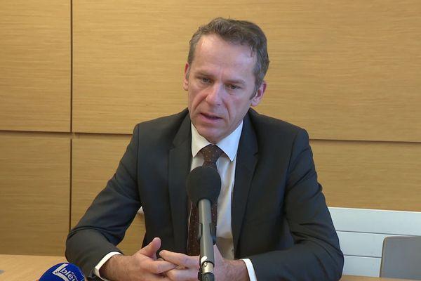 Etienne Manteaux, procureur de la République de Besançon