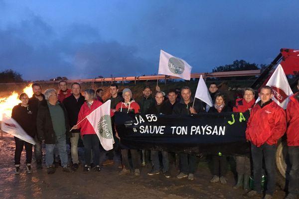 Les agriculteurs meusiens à nouveau mobilisés contre les accords internationaux et l'agribashing.