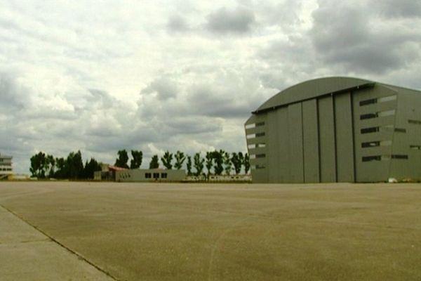 Le site de construction du futur avion Skylander à Chambley (54)
