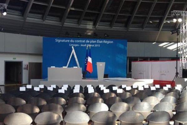 C'est à la Coupole de Ester Technopole qu'auront lieu les discours sur le Contrat de plan Etat-Région Limousin