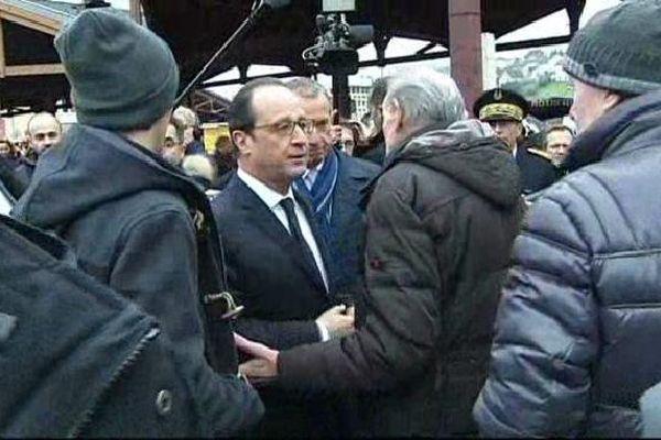 François Hollande à Tulle en janvier dernier