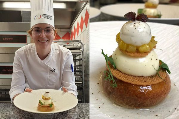L'Auvergnate Lou Levasseur, ancienne élève du lycée hôtelier de Chamalières, présentera son dessert lors des championnats de France du dessert les 6 et 7 octobre prochains.