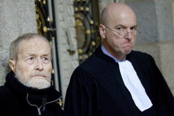 Maurice Agnelet avec son avocat Me Saint Pierre