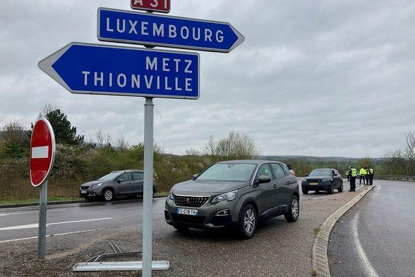 Une journée de contrôles renforcés à la frontière avec le Luxembourg.