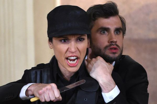 "Katarina Bradic et Anthony Gregory dans ""Alcina"" de Georg Friedrich Haendel, dirigé par Katie Mitchell"