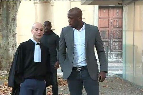 Souleymane Diawara comparaissait ce matin devant le tribunal correctionnel de Digne-les-Bains, aux côtés de son frère dans le cadre d'une affaire d'extorsion