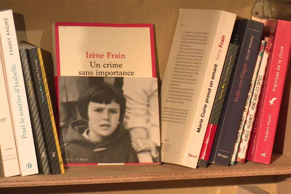 """""""Un crime sans importance"""" le dernier livre d'Irène Frain au Seuil."""