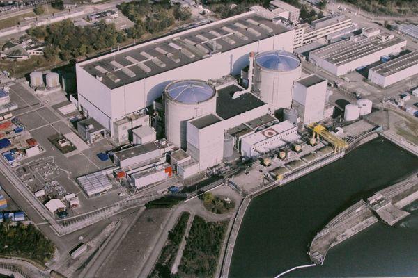 La centrale de Fessenheim.
