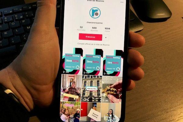 """La Ville de Roanne s'est lancée sur Tik Tok avec le compte """"We are Roanne"""" et a convaincu 500 abonnés"""