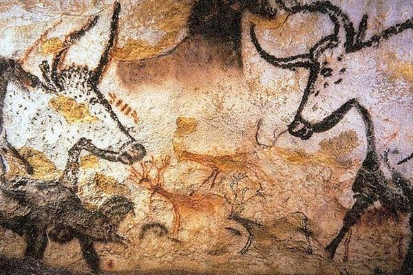 Fresque pariétale de Lascaux