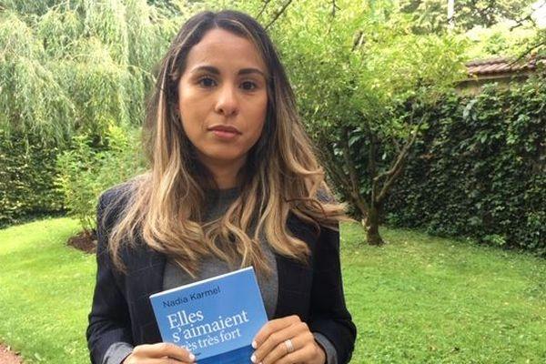 """Nadia Karmel et son livre """"Elles s'aimaient très très fort"""""""